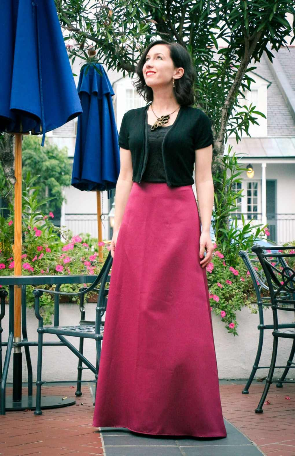 thredup maxi skirt
