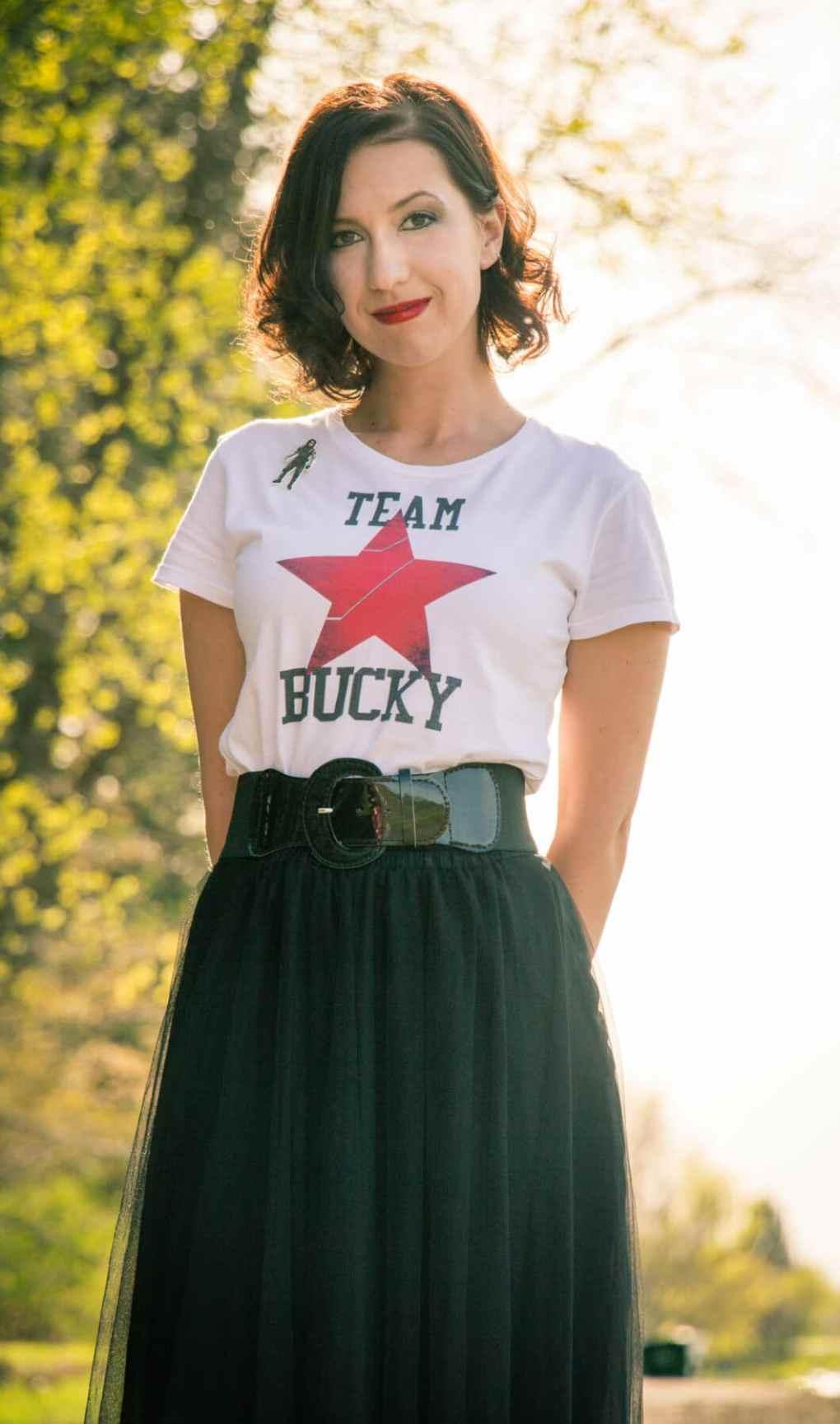 Team Bucky Civil War Outfit