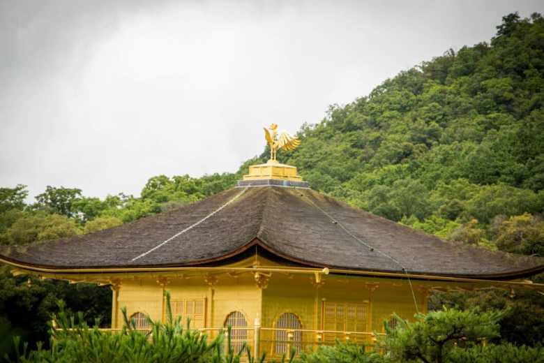 The gold pavilion