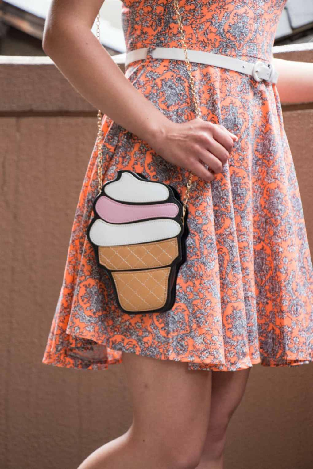 Summer outfit - ice cream purse