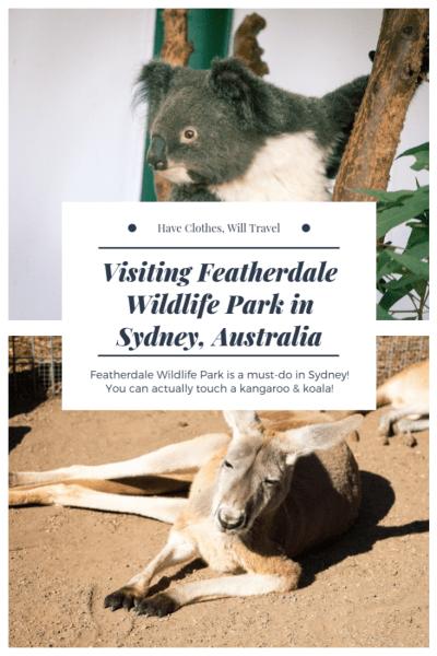 Visiting Featherdale Wildlife Park