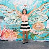 bondi dragonfly mural