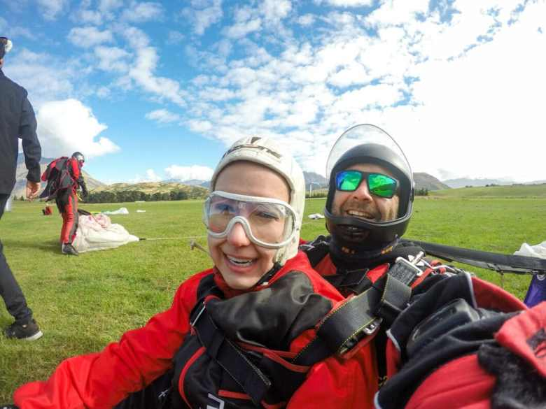 skydiving Queenstown, New Zealand