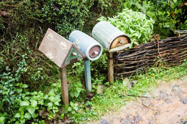 hobbiton mailboxes