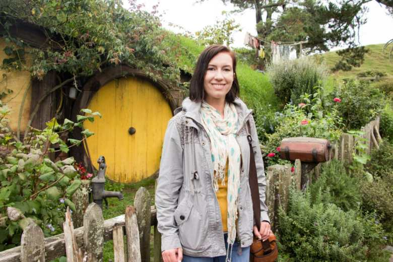 Hobbit Hole in New Zealand