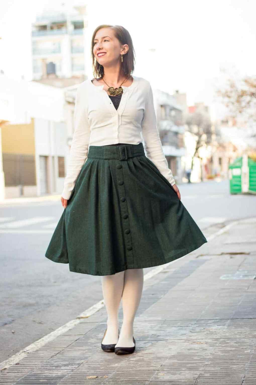ModCloth Stylish Surprise skirt