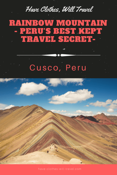 Rainbow Mountain - Cusco, Peru