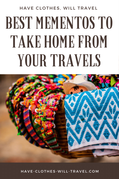 best mementos to take home from your travels