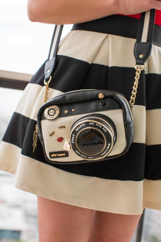 betsey johnson camera bag