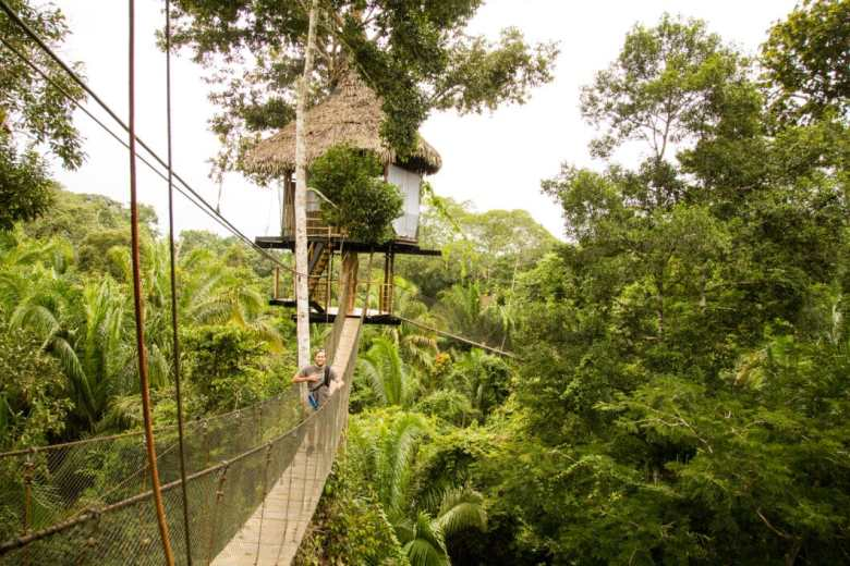 Casa Alta - the tallest treehouse at Treehouse Lodge!