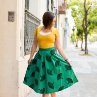 Tatyana Fan skirt
