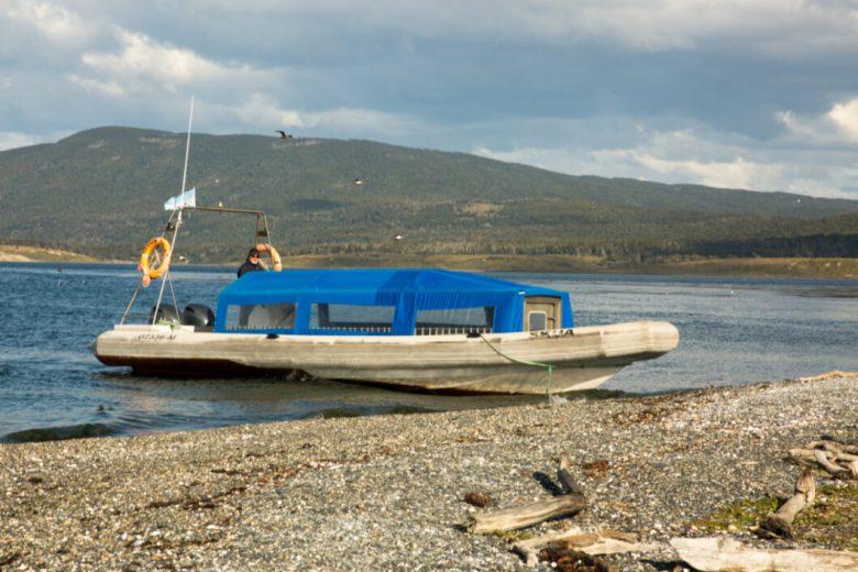 The boat you take to Martillo Island