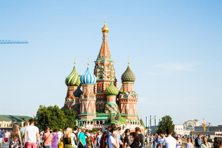 St. Basil's Cathedral - Moscow, Russia