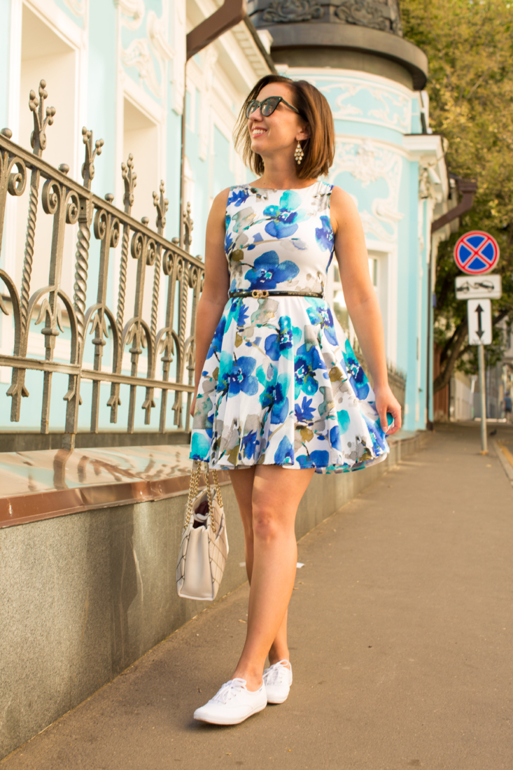 ea92de263173 Pairing a Dress with Sneakers -Have Clothes