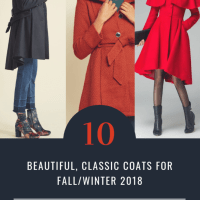 10 Beautiful, Classic Coats For Fall/Winter 2018