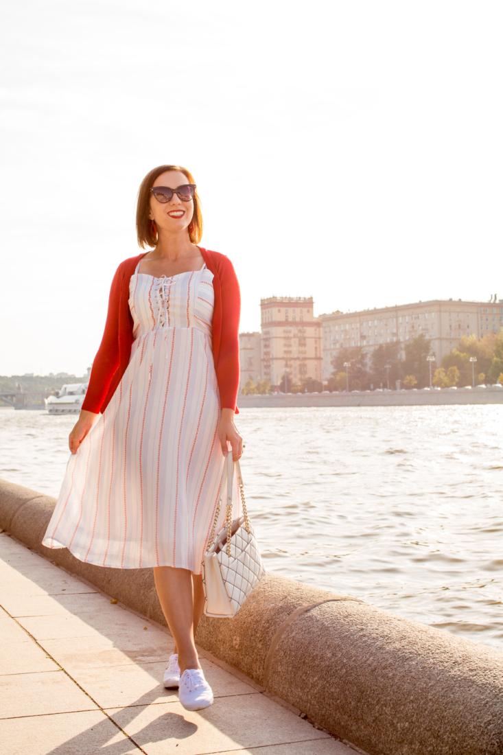 "Unique Vintage ""Catch of the Day"" Dress"