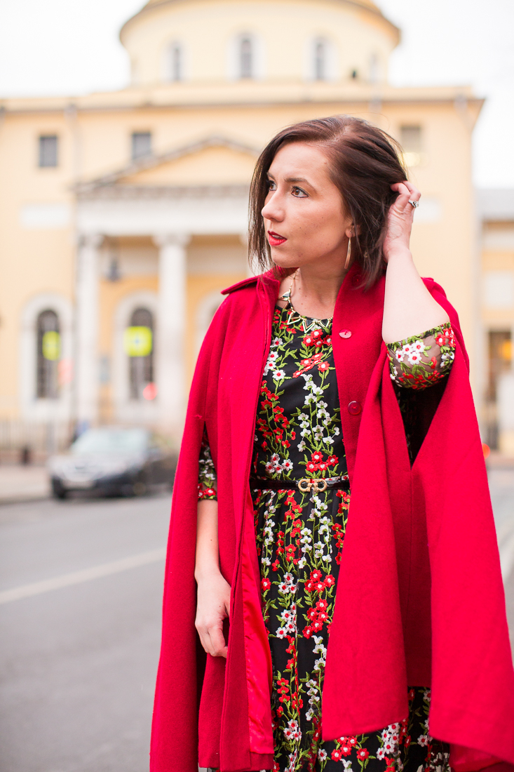 red collectif cape
