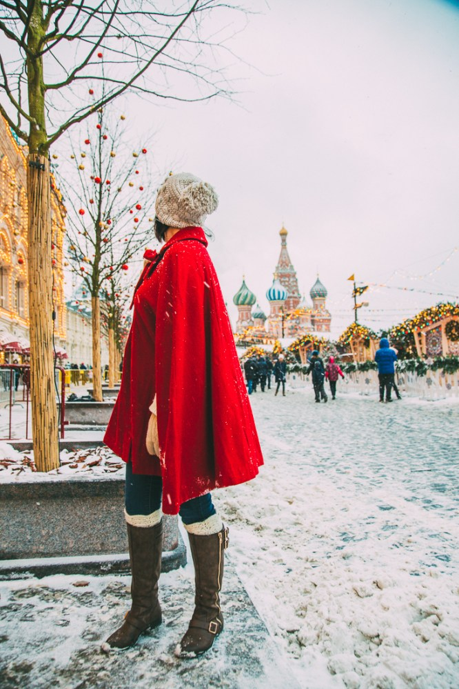 Red Square at Christmas