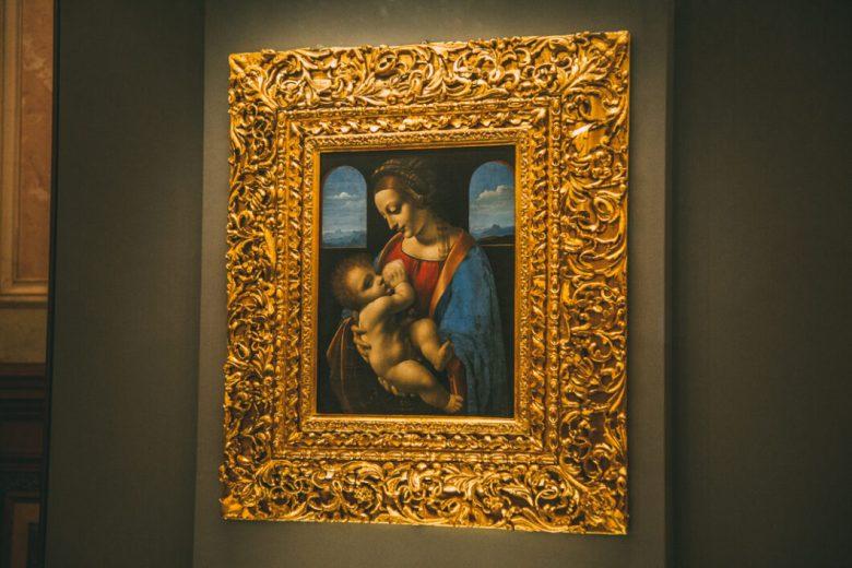 The Madonna and Child by Leonardo da Vinci