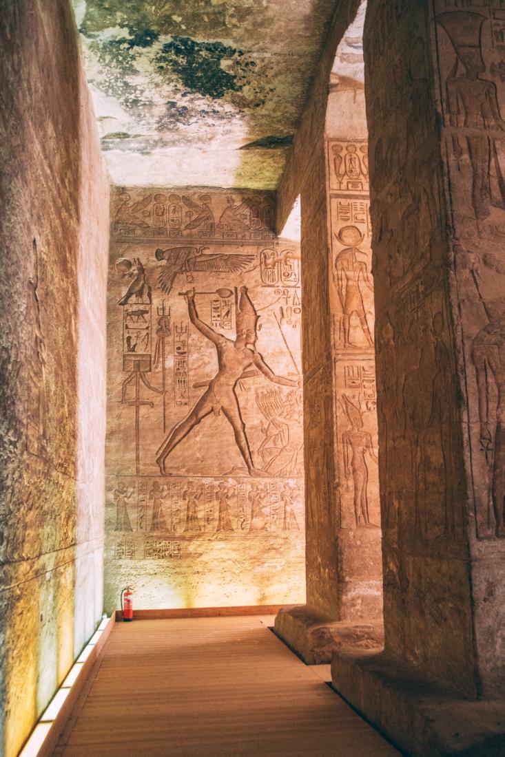 Inside Abu Simbel