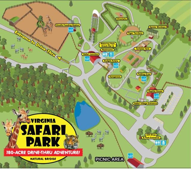 Virginia-Safari Map for Website