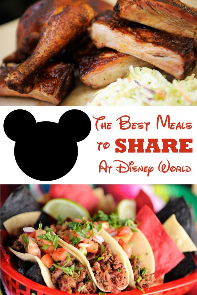 Meals You Can Split At All Four Disney World Parks