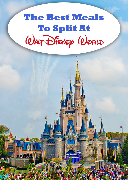 The Best Meals To Split At Disney World