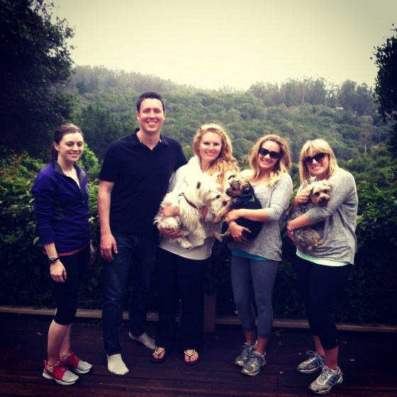 The crew for Sunday brunch + afternoon hike!