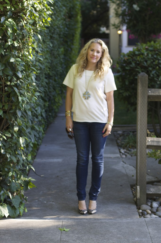 Basic Tee and Skinny Jeans 3