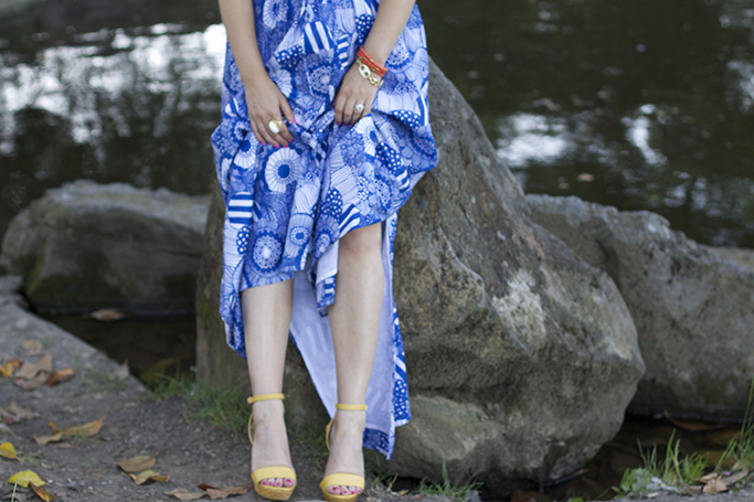 Summer, Maxi dress, summer dress, Banana Republic, Marimekko