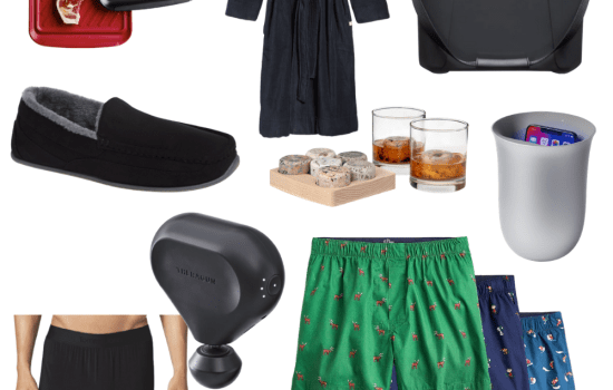 2020 gift guide for him! Sharing a short list of items that would make a great gift for your guy this holiday season. #giftguide #giftsforhim #giftsformen