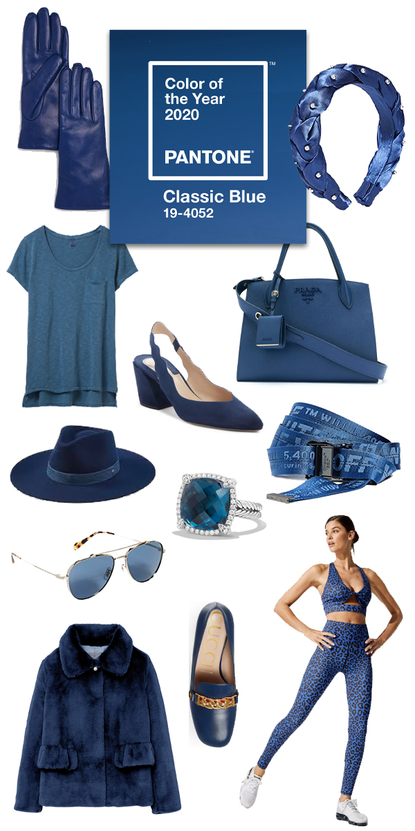 Its 2020 and this years Pantone color of the year is Classic Blue! I couldn't be more excited to continue to rock the blues this year. Head to the blog to check out what pieces I suggest you add to your wardrobe in classic blue! #pantonecoloroftheyear #classicblue #2020style