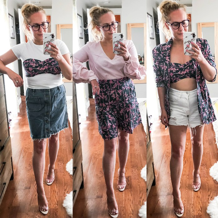 Sharing multiple ways to style and wear a matching set to get the most bang for your buck! Head on over to the blog to check out all 12 looks and get inspiration for many more outfit combinations! #matchingsets #freepeople #threepieceset #stylingtips #multiplewaystowear #springstyle #outfitinspiration