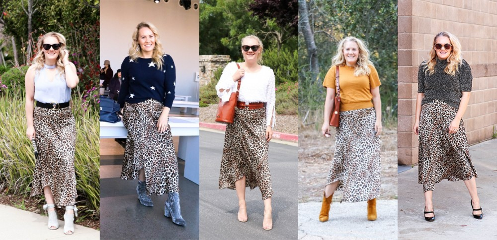 5 Ways to Style a Leopard Print Midi Skirt on Have Need Want!
