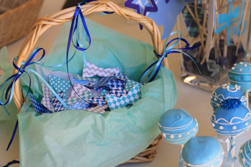 Baby Shower-Cake Pops-Baby Shower theme-Bow Ties 2