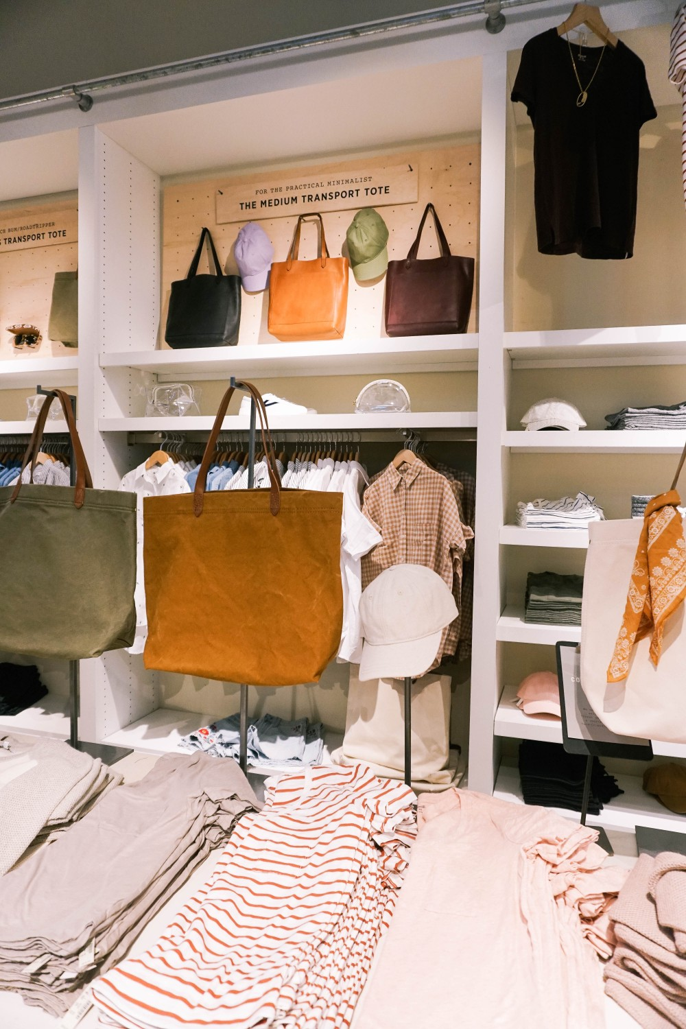 Back to School-Madewell-Leather Totes