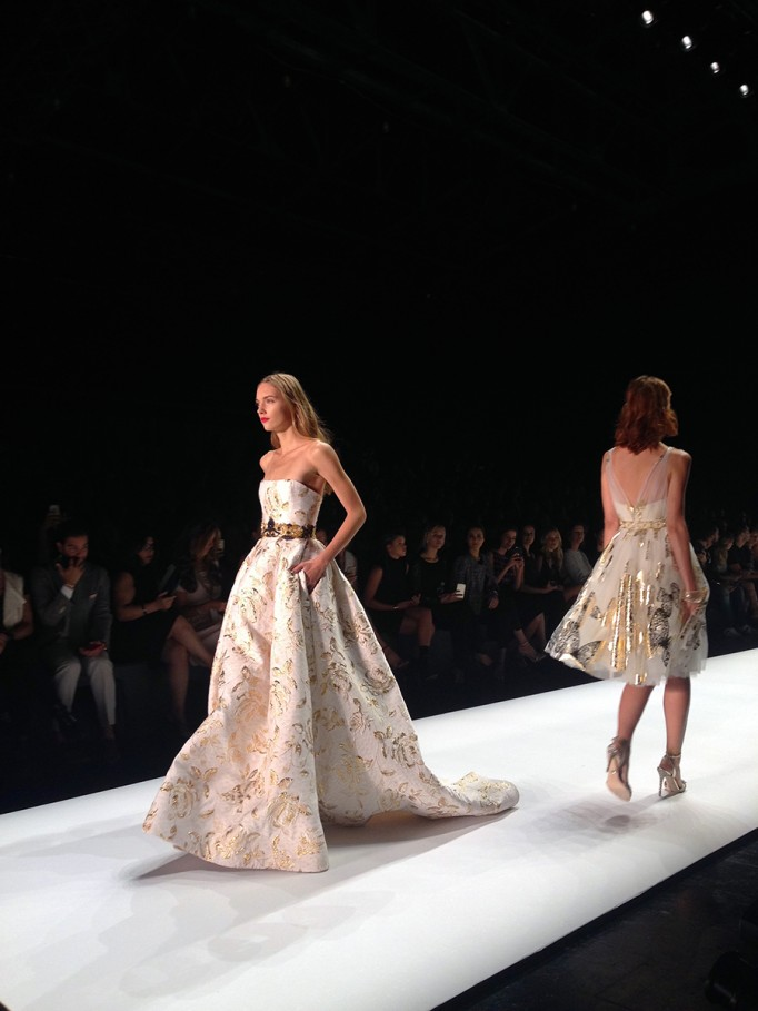 Badgley Mischka-NYFW SS16-Runway-Behind the scenes-Fashion Week 6
