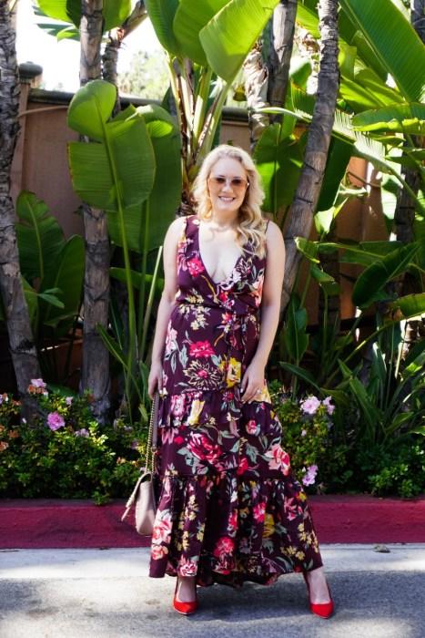 Billabong x Love Like Summer Floral Maxi Dress