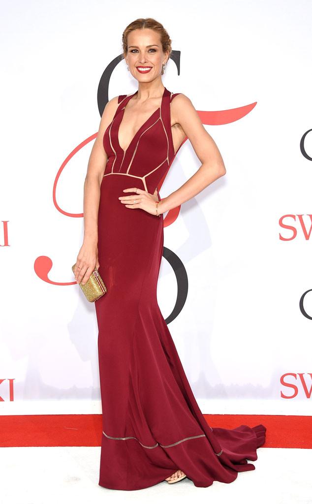 CFDA Awards Petra Nemcova Max Azria Gown