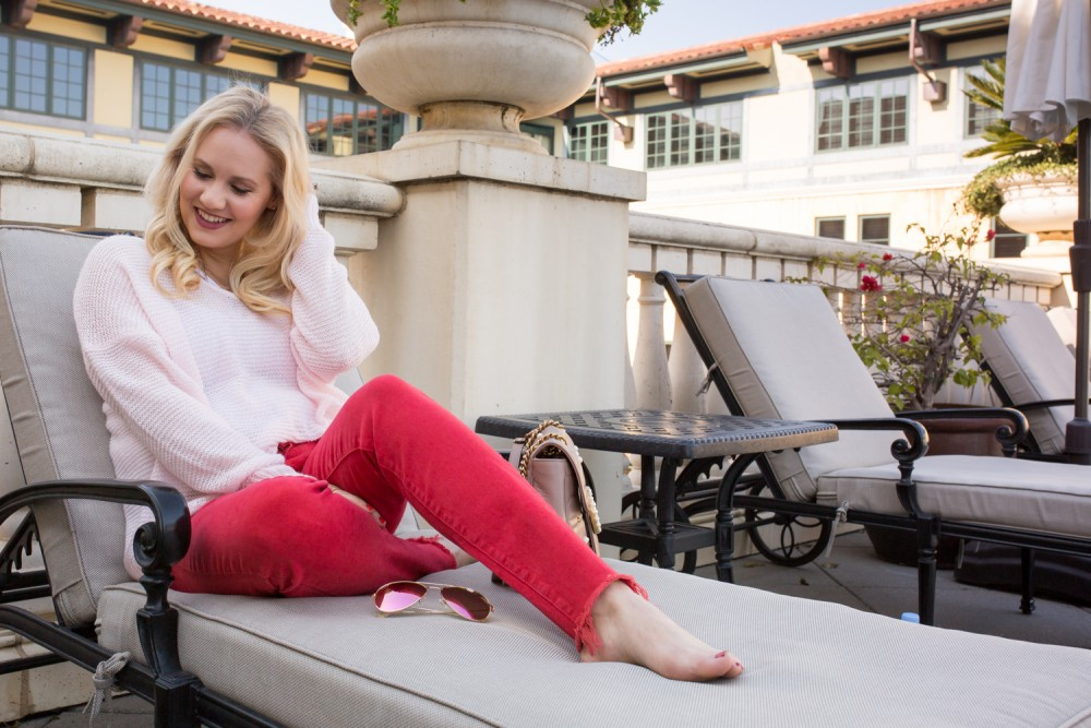 Casual Valentine's Day Outfit + The Perfect Mini V-Day Staycation