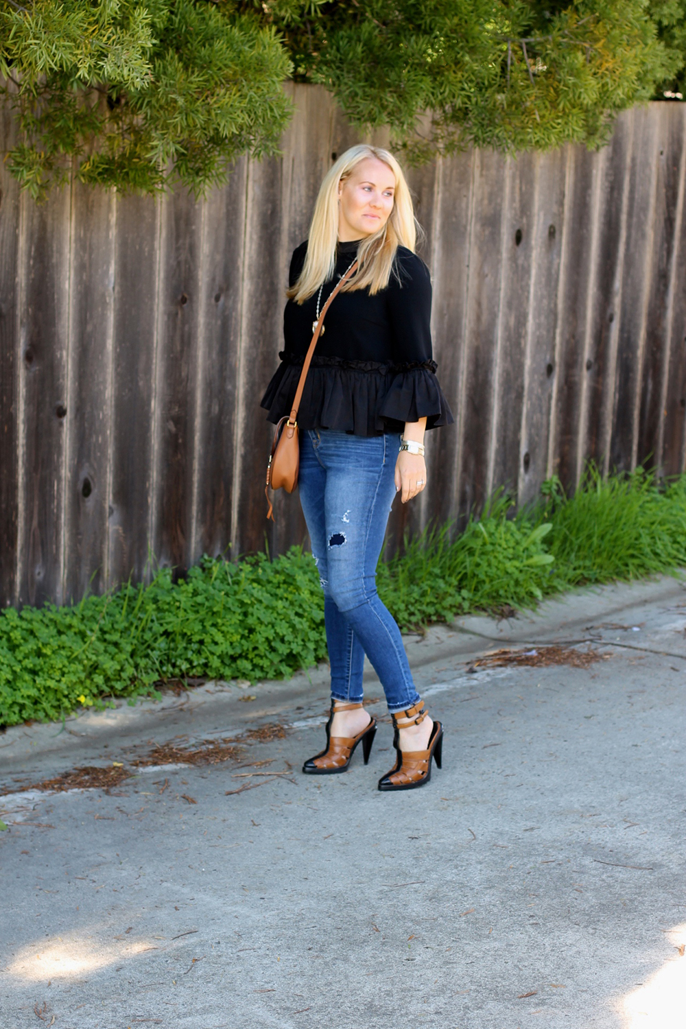 Cinq a Sept Flounced Ruffle Top-Outfit Inspiration-Date Night Outfit-Covet by Stella & Dot-Have Need Want