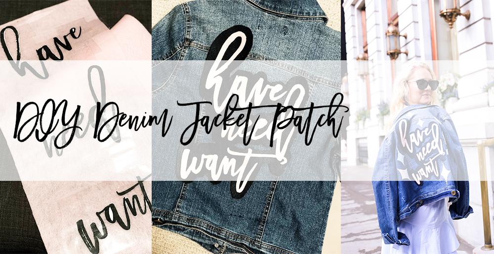 DIY Denim Jacket Patch