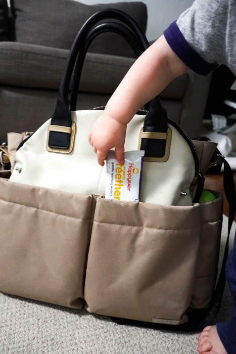 Diaper Bag Essentials for an 18 Month Old