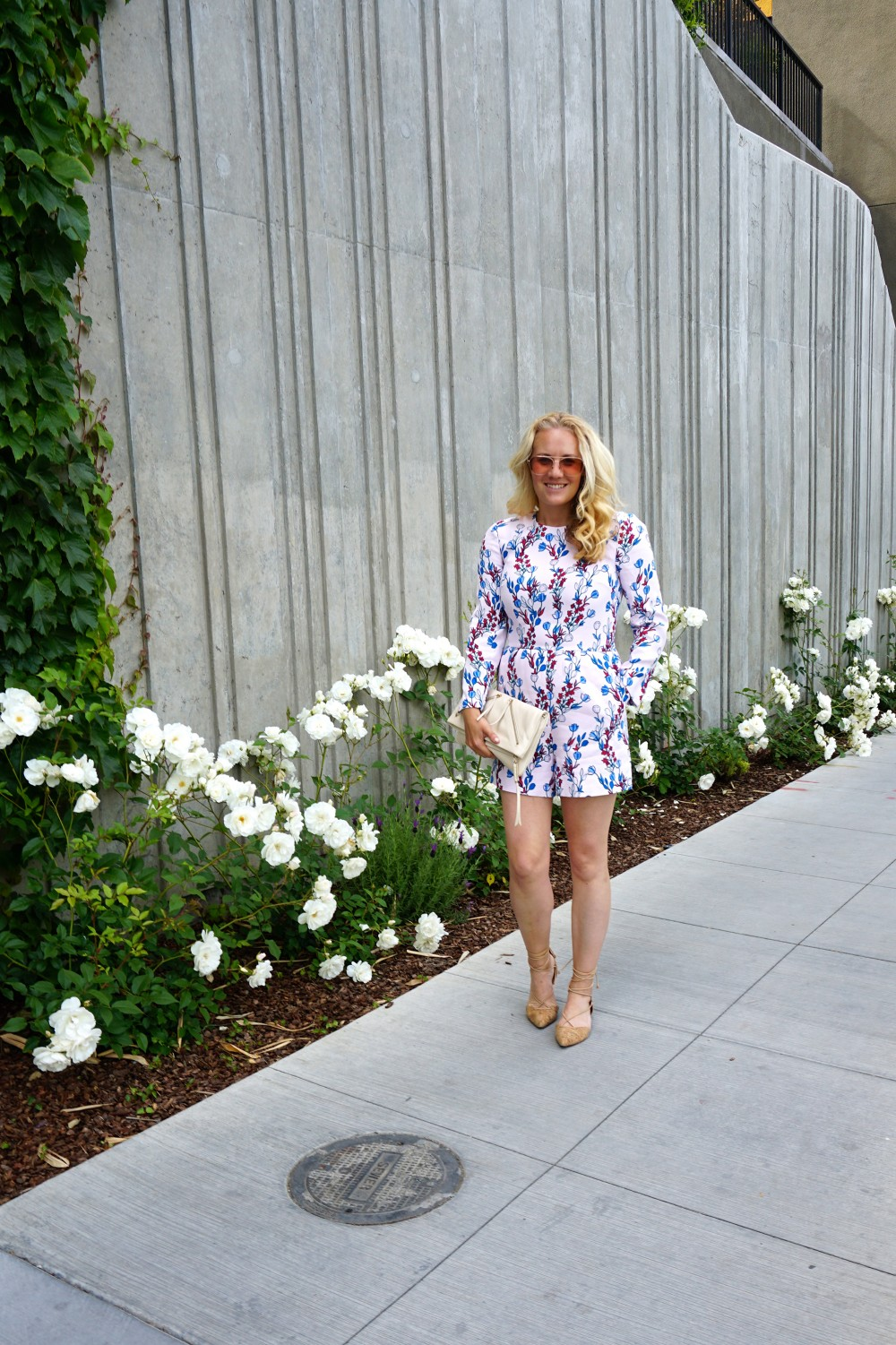 Draper James Romper-Outfit Inspiration-Spring Style-Spring Florals-Mom Style-Style Blogger-Have Need Want 4