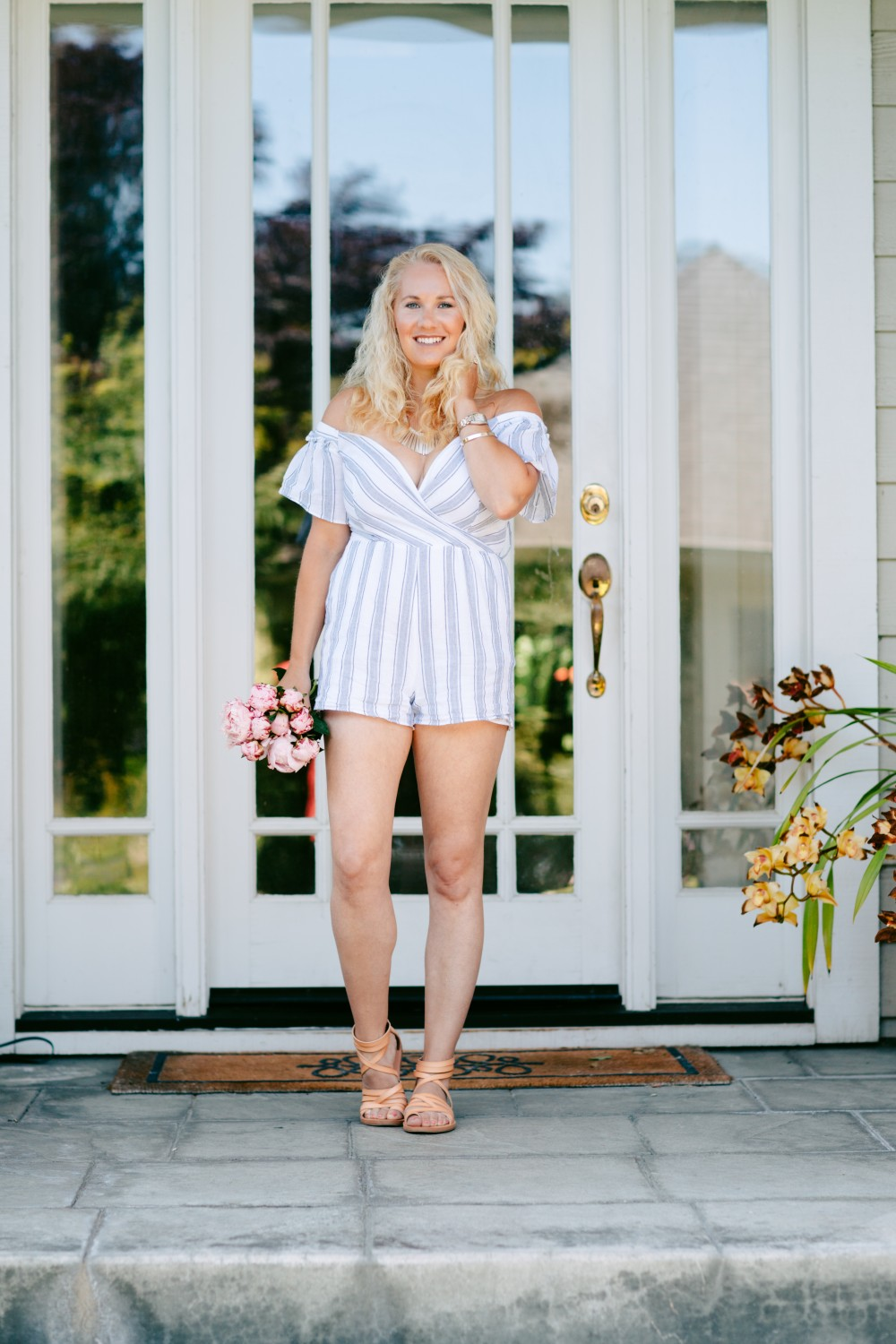 Effortless Stripe Romper-Have Need want-Outfit Inspiration-Summer Style-Saylor Stripe Romper 6