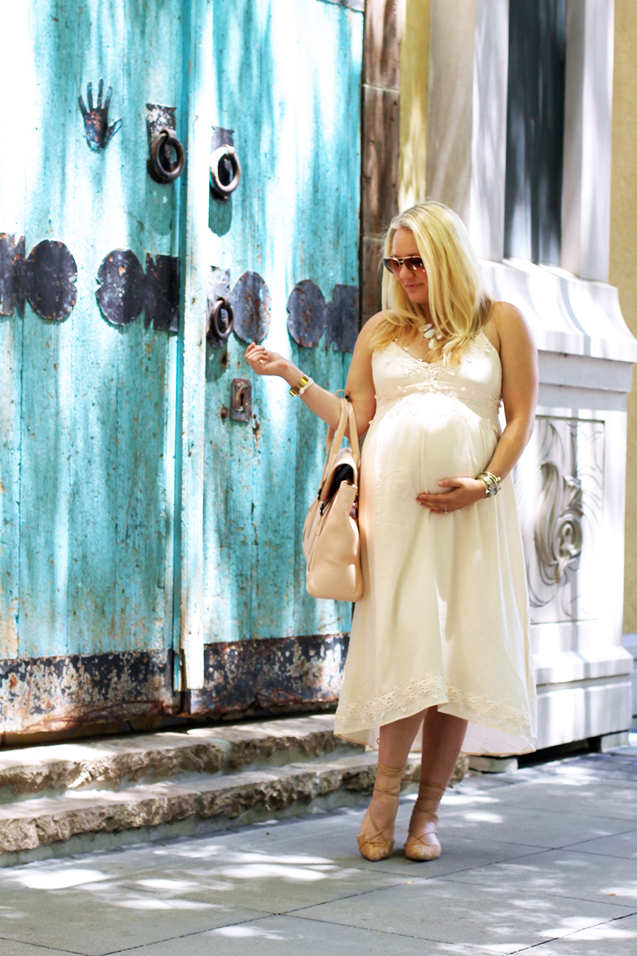 Forever 21 Lace Dress-Maternity Style-Outfit Inspiration-Pregnancy Style-Have Need Want