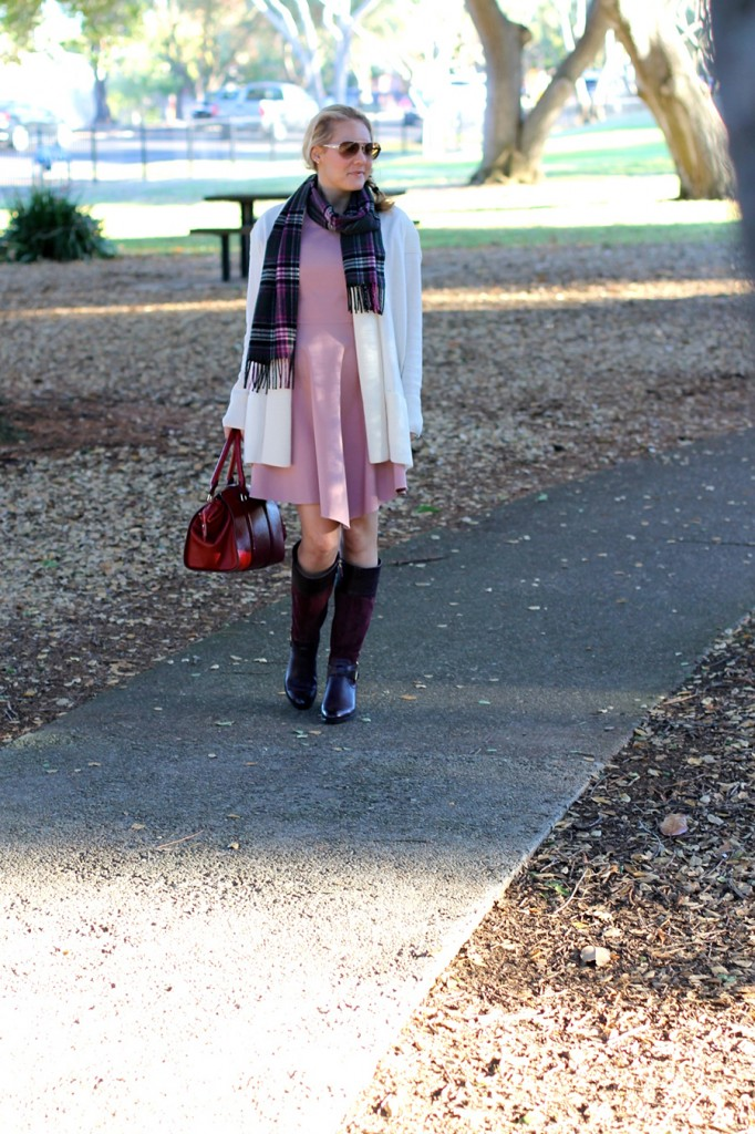 Franco Sarto-Winter Style with ShoeBuy-Tibi dress-Coach-Plaid Scarf-Have Need Want-Outfit Inspiration 9
