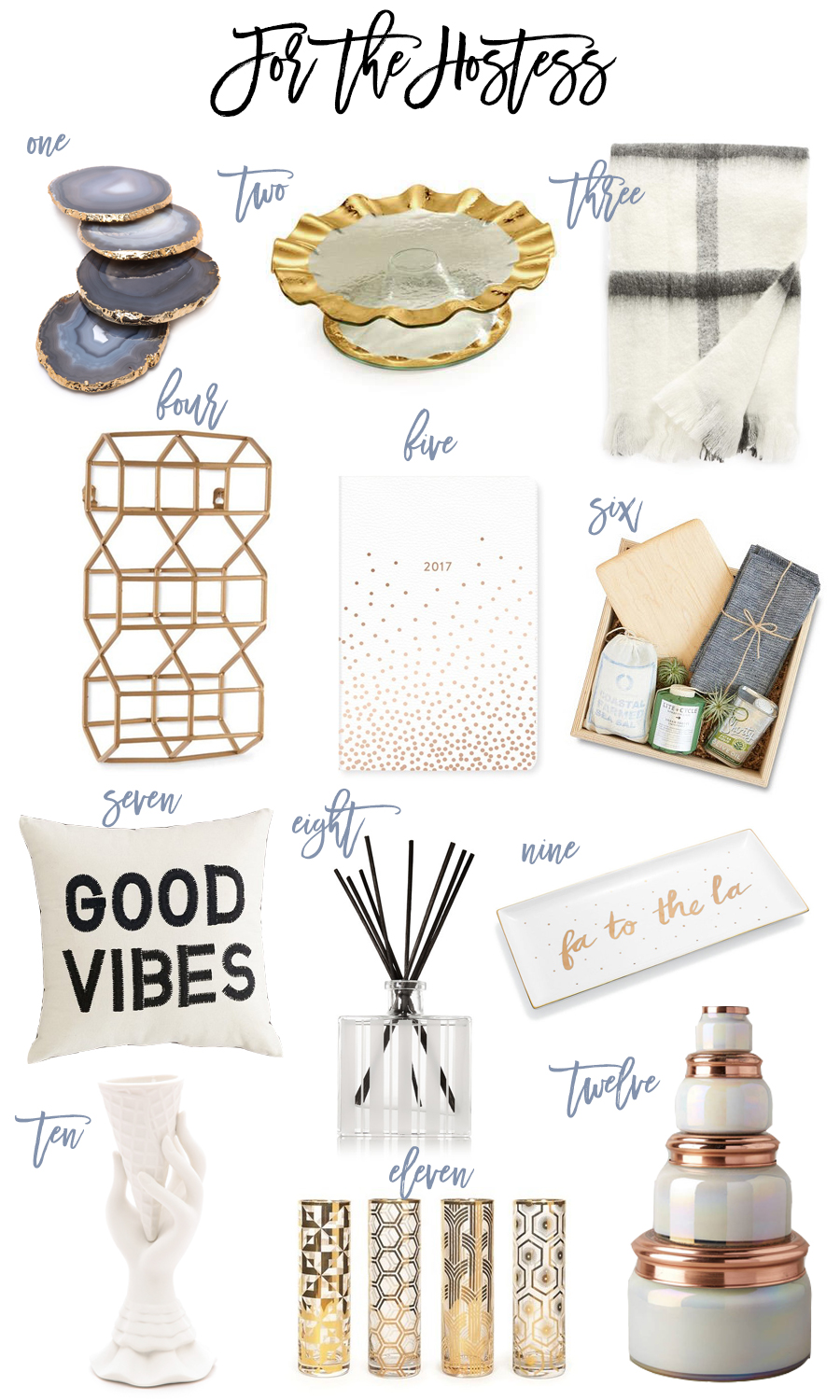 gift guide for the hostess, hostess gifts, holiday gift guide