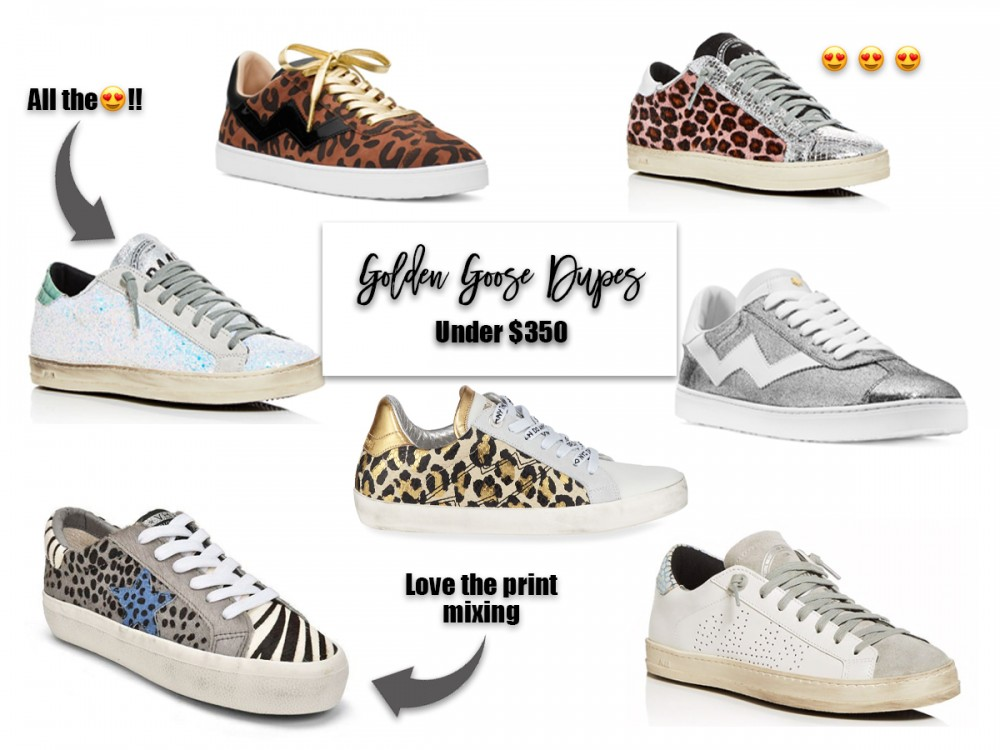 Goose Dupes Under $350. #goldengoose #goldengoosedupes #sneakers #distressedsneakers