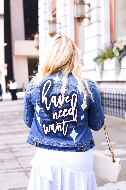 DIY Denim Jacket Patch, Felt Patch, Custom Patches, Custom Logo Patch, Custom Name Patch, Have Need Want